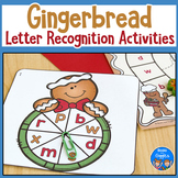Gingerbread Letter Recognition Activities