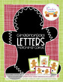 Gingerbread Letters Matching Cards