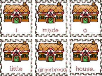 Gingerbread Literacy Center Bundle