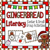 Gingerbread Literacy Center and Small Group Activities - ABC, Beginning Sounds
