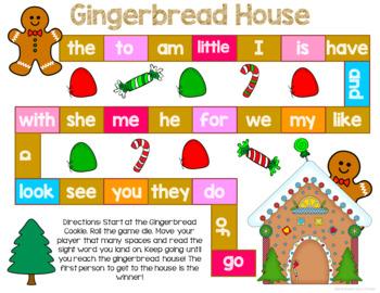 Gingerbread Literacy Centers for Kindergarten