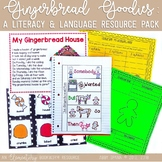 Gingerbread Goodies: A Literacy and Language ResourcePack