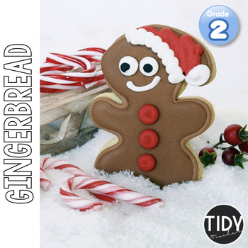 Gingerbread Printables:2nd Grade