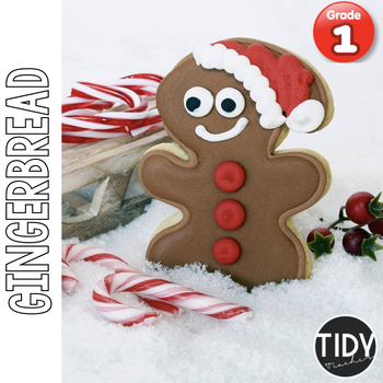 Gingerbread Printables: 1st Grade