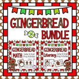 Gingerbread Literacy and Math BUNDLE ~ Center and Small Group Activities