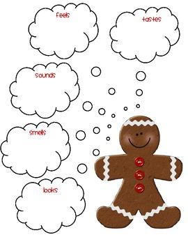Gingerbread Literacy Mega Pack