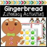 Gingerbread Literacy Printable Packet for Pre-K