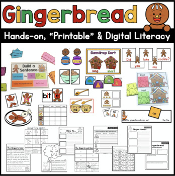 Gingerbread Literacy Unit