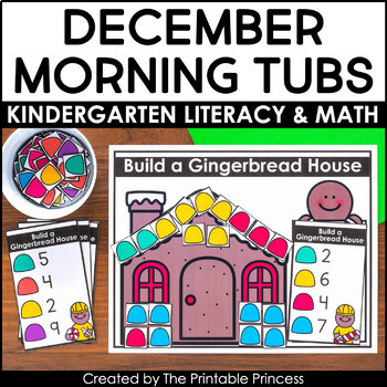 Gingerbread Literacy and Math Activities