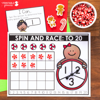 December Morning Tubs for Kindergarten