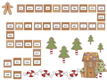 Gingerbread Literacy and Math - Activities, Centers, Lesson Plan