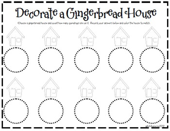 Gingerbread Literacy and Math Centers