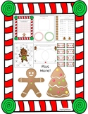 Gingerbread Literacy and Math Packet NO PREP!