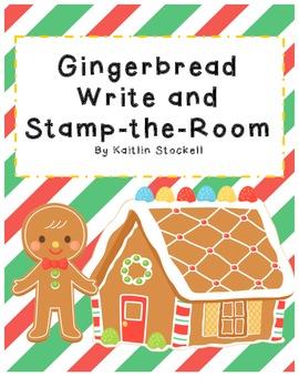 Gingerbread Literacy Center Activities!
