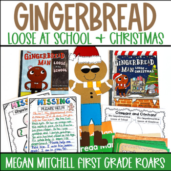 The Gingerbread Man Loose at Christmas~ Literature Connections and More!