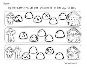 *** Gingerbread MEGA Math Activities & Centers