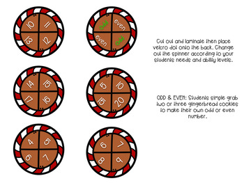 Gingerbread Making Numbers
