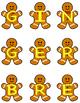 Gingerbread Making Words