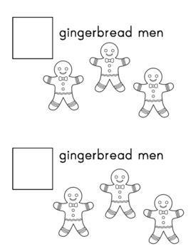 Gingerbread Man 1-10 Counting Book Differentiated! Precious Preschoolers
