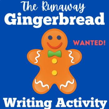 Gingerbread Man Activity | Gingerbread Man Writing