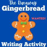 Gingerbread Man Activity Writing