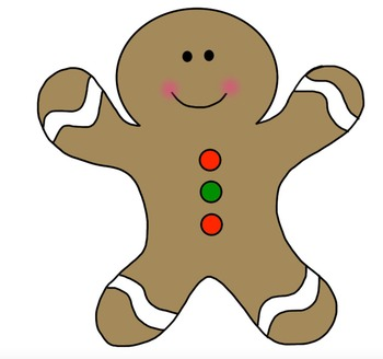 Gingerbread Man Clipart