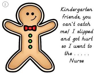 Gingerbread Man 1st Day of School Hunt