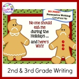 Gingerbread Man Activities for Writing PERSUASIVE & OPINION WRITING