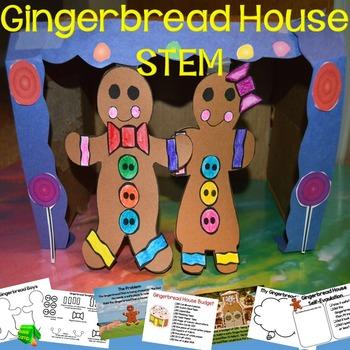 Gingerbread Man STEM Challenge