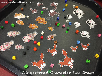 Gingerbread Man Resource Pack / Bundle Containing 20 Resources