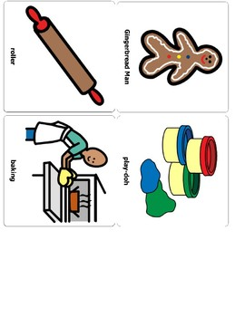 Gingerbread Man Vocabulary and Sequencing
