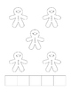 Gingerbread Man 5 Frame Book