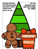 Gingerbread Man ABC Order