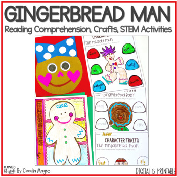 Gingerbread Man Activites