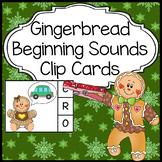 Gingerbread Man Activities: Beginning Sounds