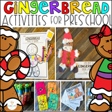Gingerbread Man Activities, Centers and Crafts for Preschool and Kindergarten