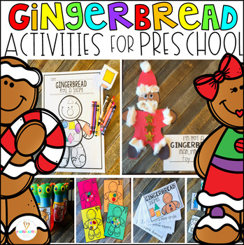 Gingerbread Man Activities, Centers and Crafts for Prescho