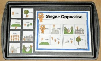 """Gingerbread Man Activities:  """"Gingerbread Man Cookie Sheet Activities"""""""