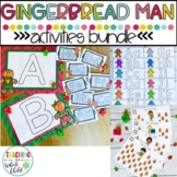 Gingerbread Man Activities: Math, Literacy, and Writing Bundle