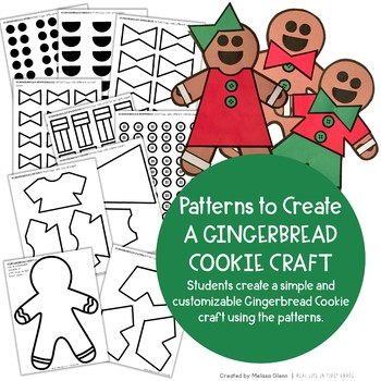 Gingerbread Man Activities and Craft