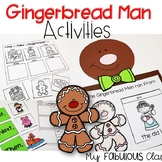 Gingerbread Man Activities and Crafts