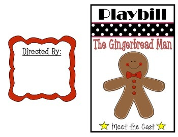 Gingerbread Man Activity