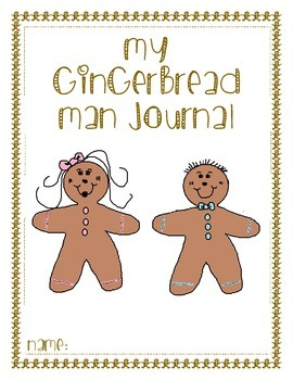 Gingerbread Man Adventure Log/Journal