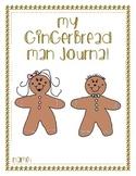Gingerbread Man Adventure Log/Journal