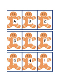 Gingerbread Man Alphabet
