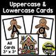 Alphabet Matching Cards ~ Gingerbread Man/Christmas