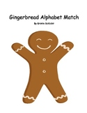 Gingerbread Man Alphabet Match