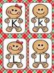 Gingerbread Man Alphabet Matching Cards