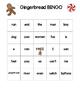 Gingerbread Man BINGO literacy game