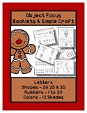 Gingerbread Man - Basics - Booklets & Craft - Preschool Sh
